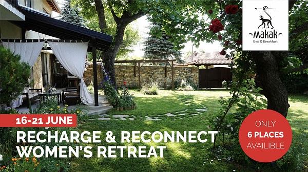 16-21 June 2019: Recharge & Reconnect Women's Retreat